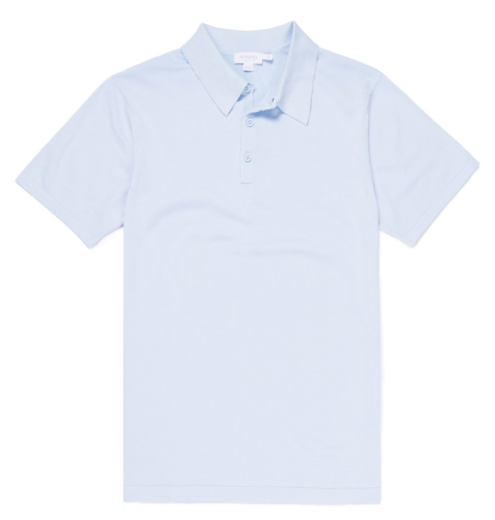 Sunspel polo shirt - £185 - Refined summer knitwear inspired by Ian Fleming ...