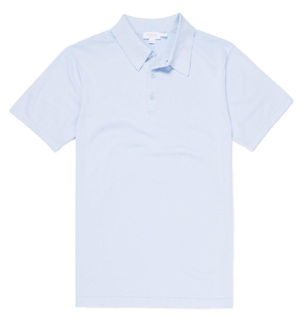 Sunspel polo shirt - £185 - Refined summer knitwear inspired by Ian Fleming ...
