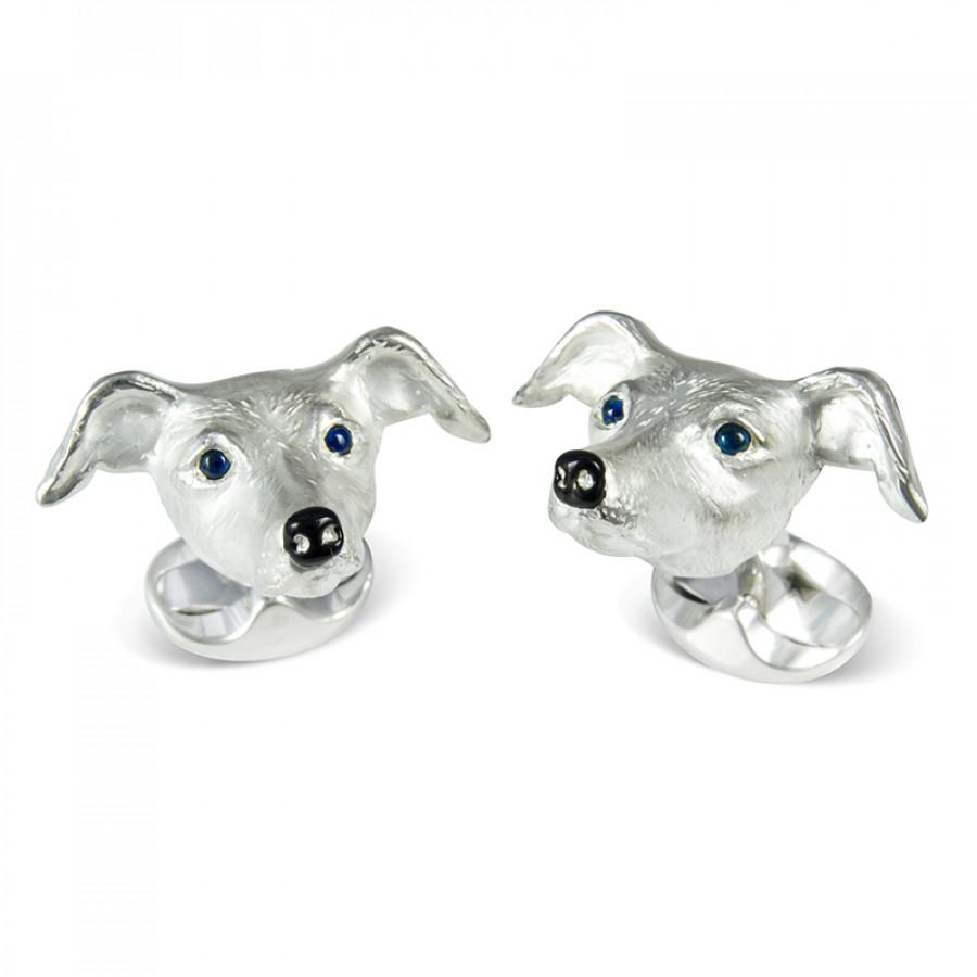 Deakin & Francis fine hounds cufflinks- £300 - Superb sterling silver cufflinks for dog lovers