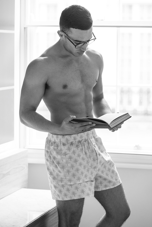 Underwear -  Pandora's Boxers ,Glasses -  Ray Ban