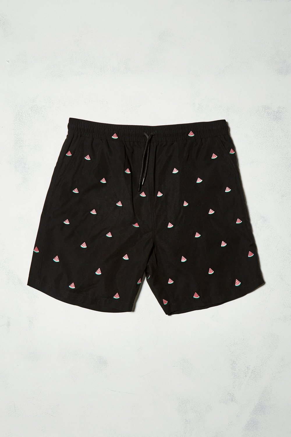 UO watermelon embroidered swim shorts - £32