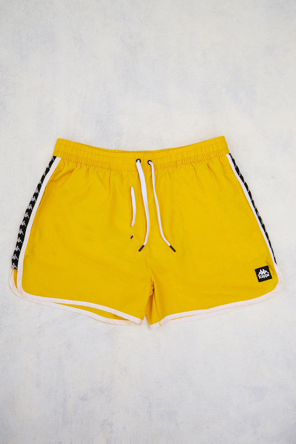 Kappa yellow swim shorts - £35