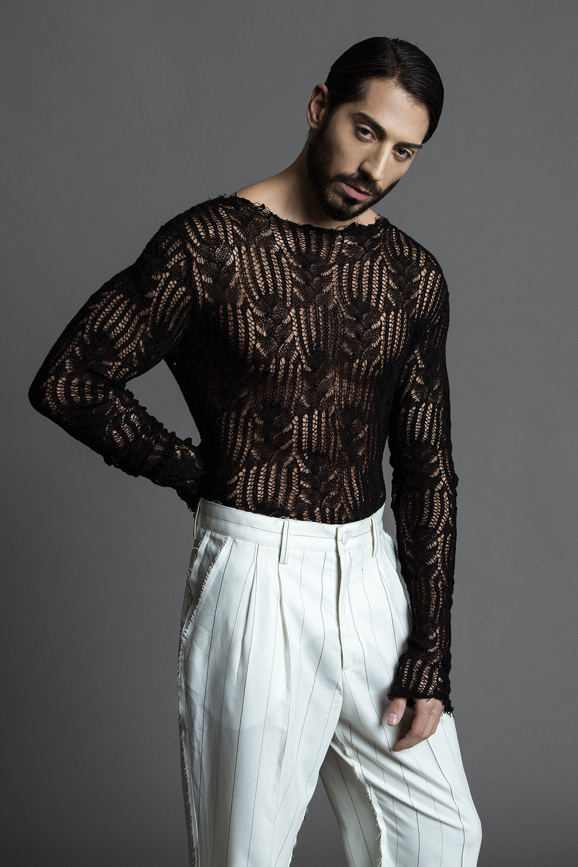 Sweater -  Meniax , trousers -  Serdar London