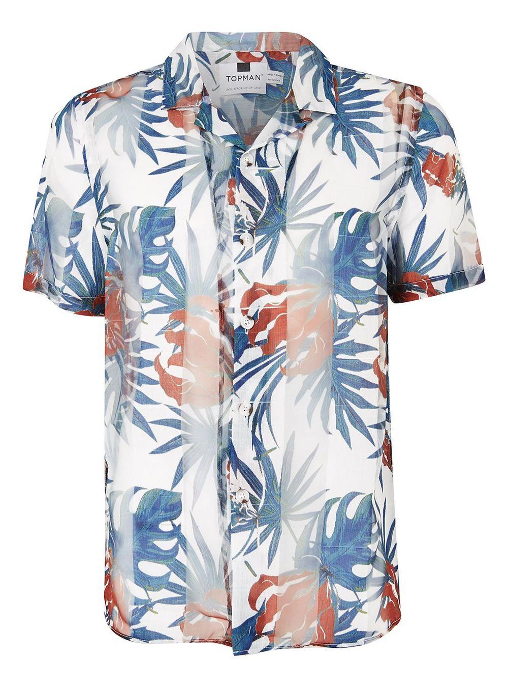 Palm print shirt - £35 at Topman