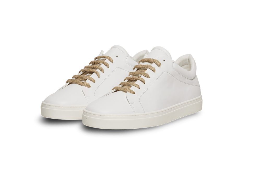 Yatay birch white sneakers - £220 - Unisex sneakers made exclusively of ethical resources