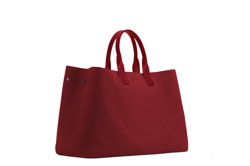 Troubadour Summer Tote - Deep Red.jpg