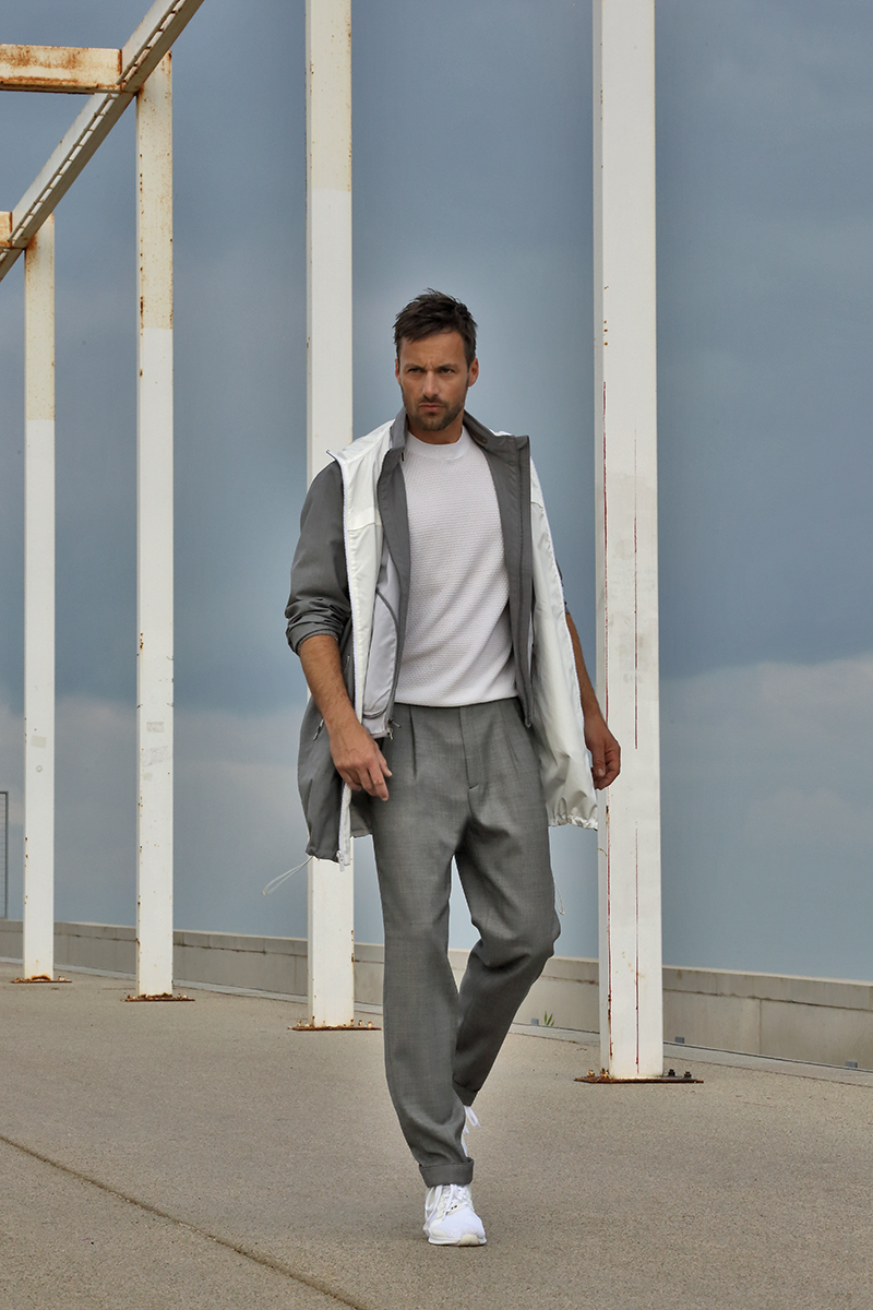 All clothing -  Massimo Dutti , shoes -  Adidas