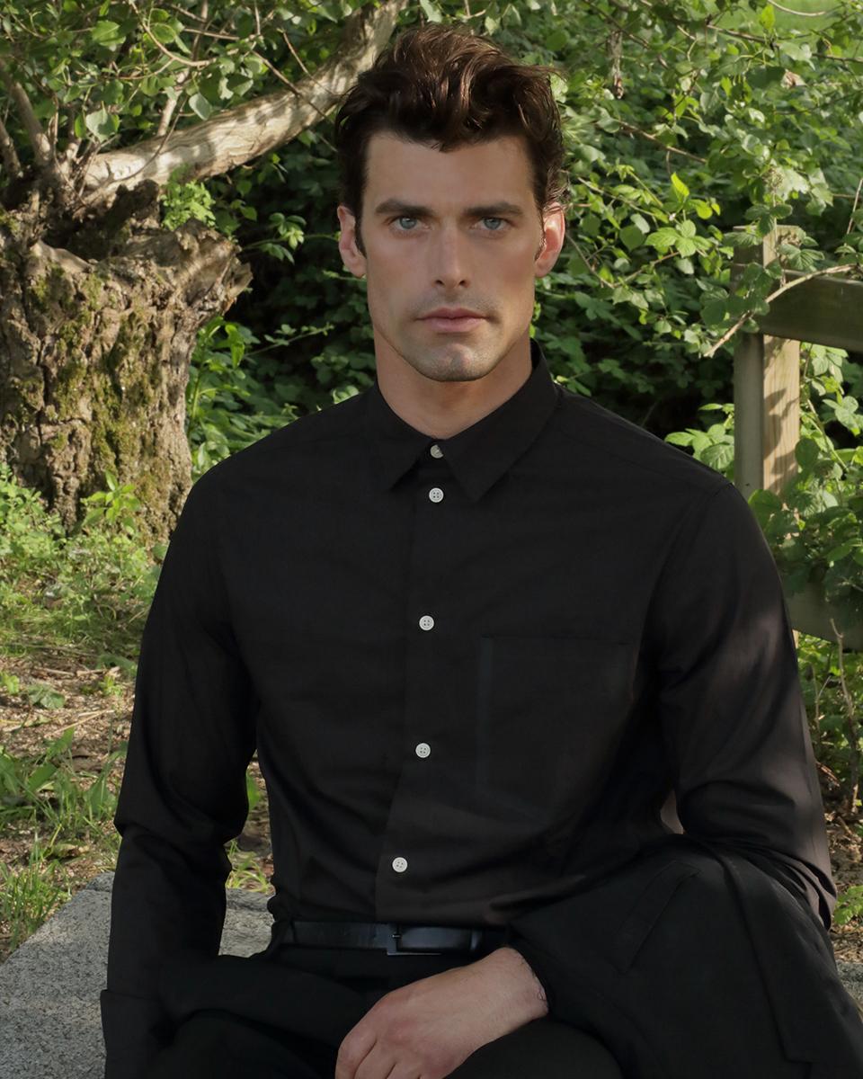 Shirt -  Mango , suit -  Laboratori Italiani , belt -  Zara