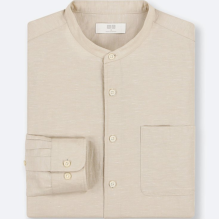 Uniqlo linen shirt - £14.90