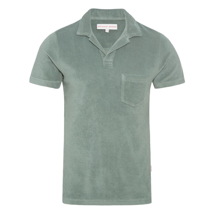 Orlebar Brown Terry towelling shirt - £95