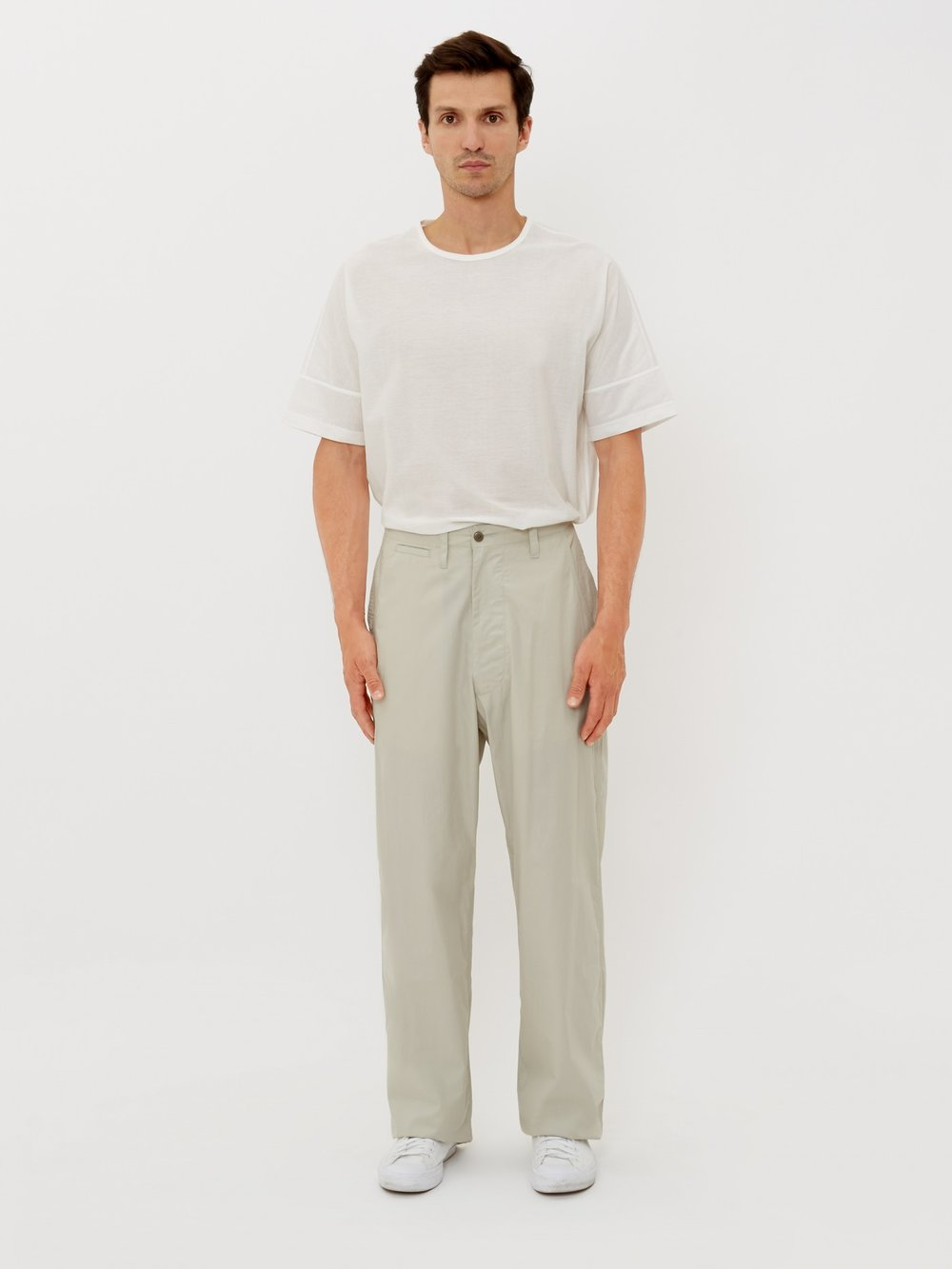 E Tautz field trouser - £230 - The perfect summer trouser, lightweight and with a wide leg