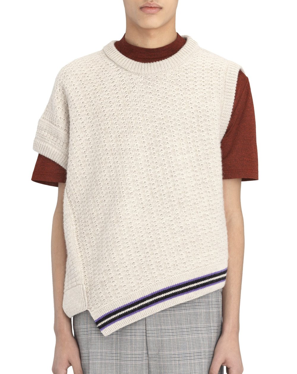 Lanvin asymmetrical sleeveless sweater - £735 - For those days when you can't quite decide whether you want to wear a T-shirt or a sweater