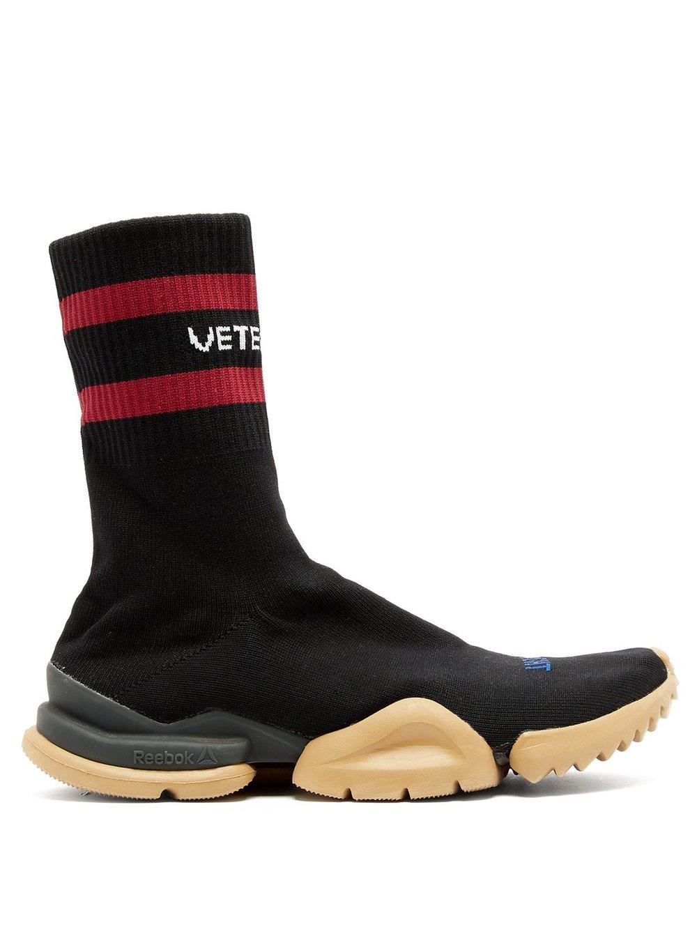 Vetements x Reebok sneakers - £655 - That high top sock sneaker trend is going nowhere fast