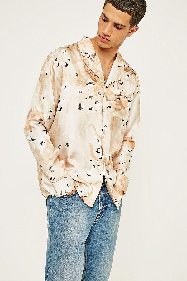 Soulland silk shirt - £235 - Vibing Frank Ocean - no bad thing