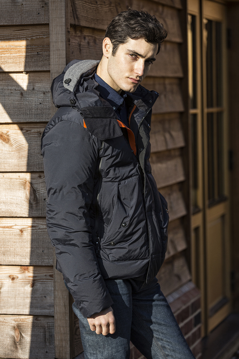 Jacket –  Parajumpers , Denim shirt –  Oliver Sweeney , Denim –  Waven Denim