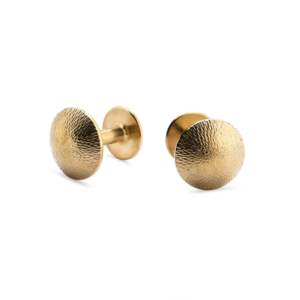 NEW Alice Made This 'Sketch Collection' James - Barley Flink Gold Cufflinks - £245.00.jpg