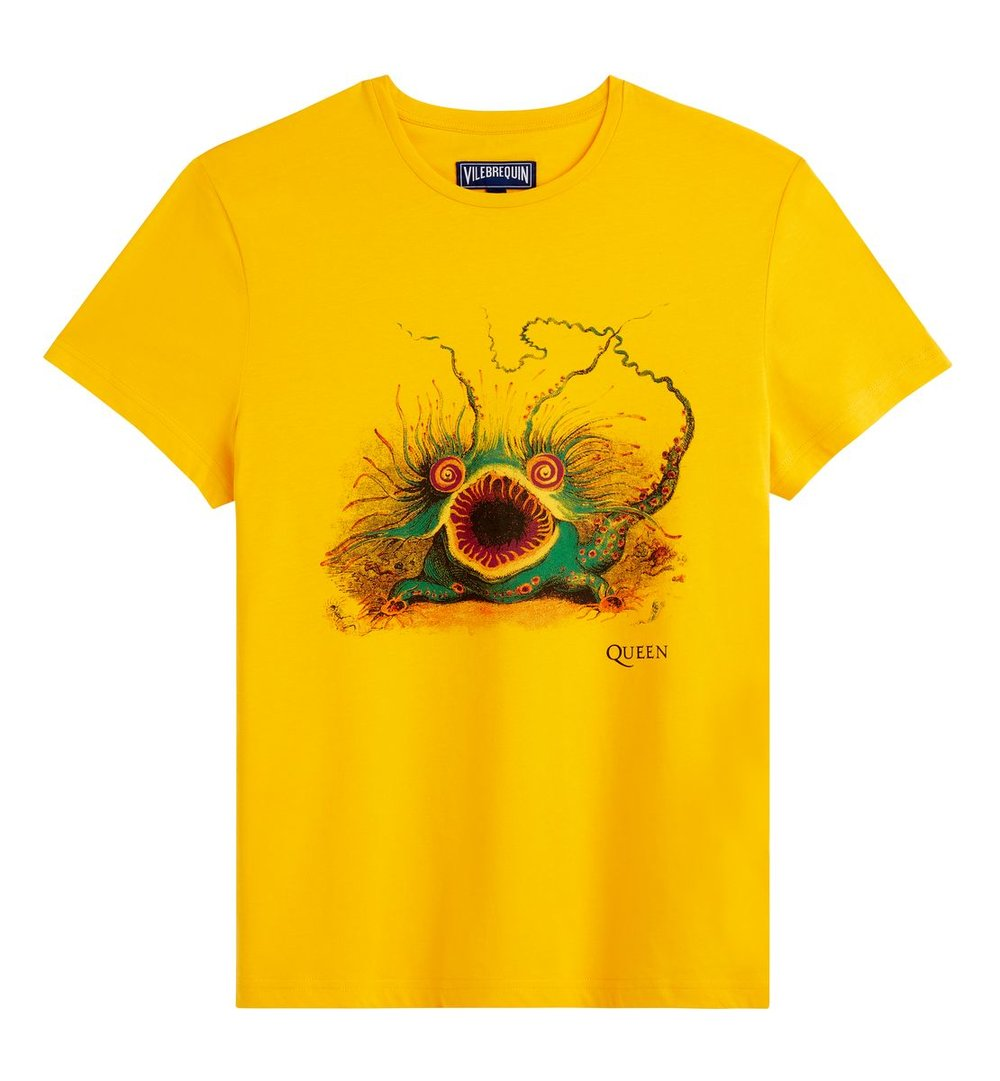 NEW Queen X Vilebrequin SS19 - Men's Tao Yellow T-Shirt - £95.00.jpg