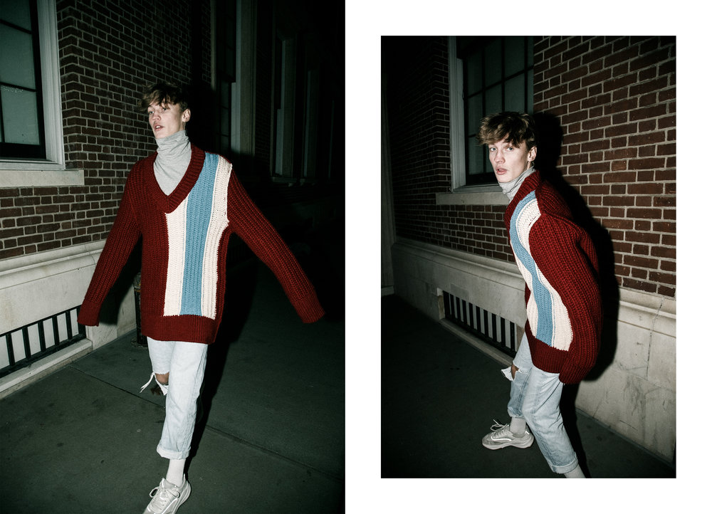 Turtleneck and sweater -  CALVIN KLEIN 205W39NYC