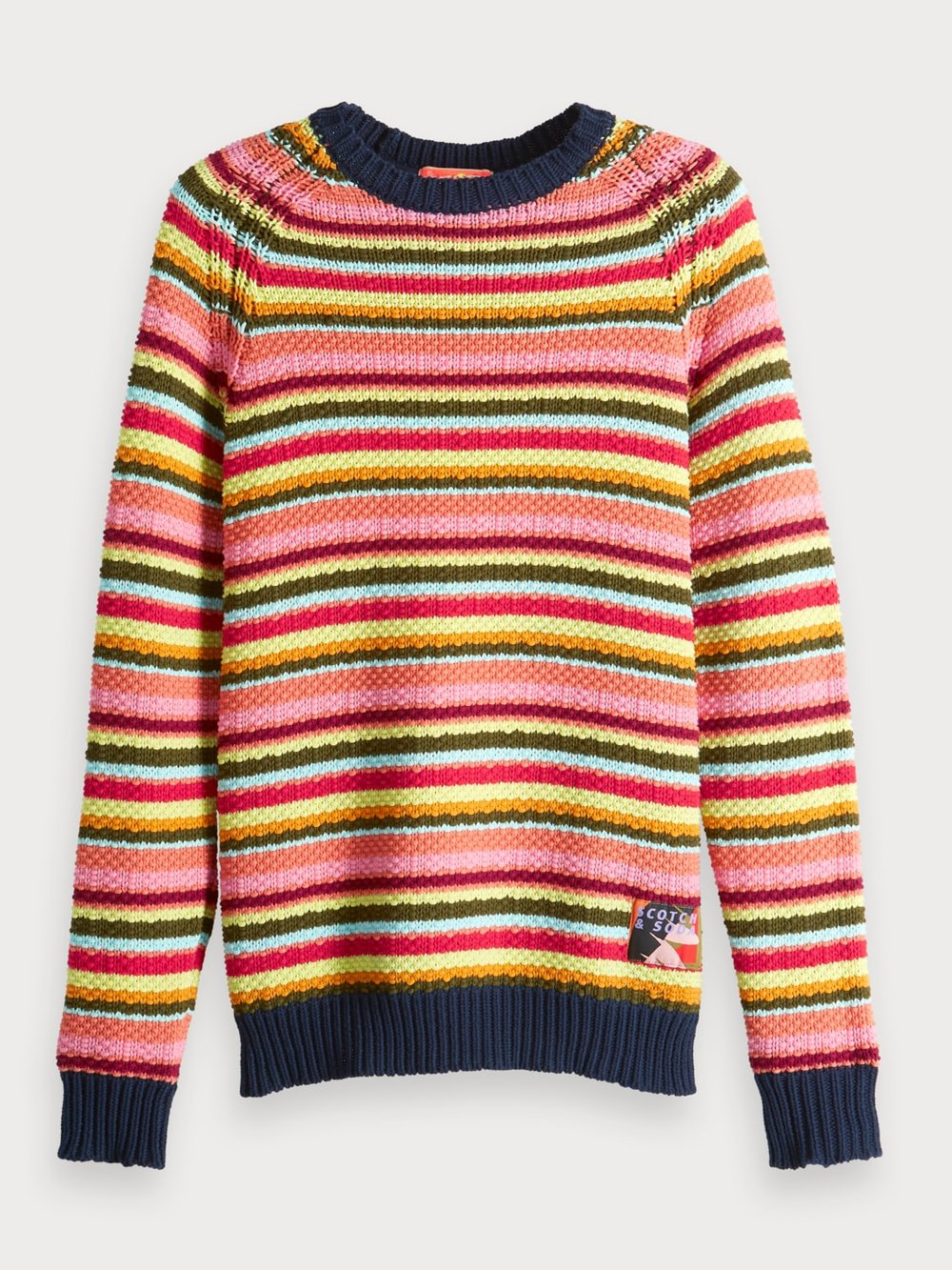 Scotch & Soda knit - £169.95 - Make up for the miserable weather with some bright stripes