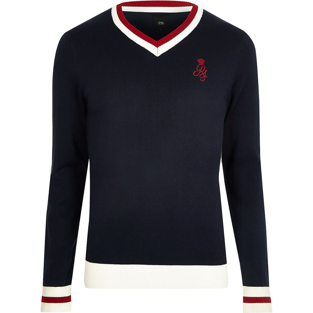 River Island jumper - £25 - You can also wear this when not playing cricket.