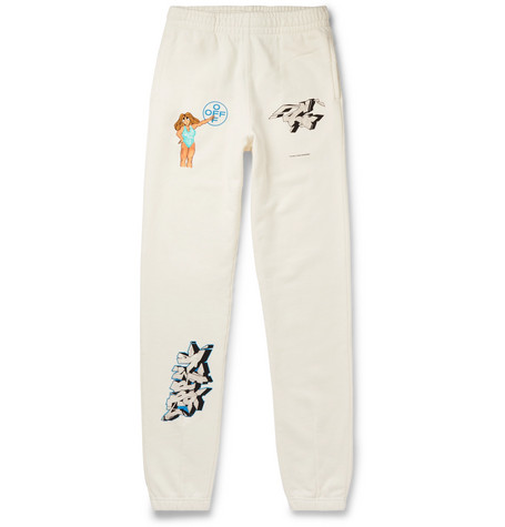 Off-White sweatpants - £395 - The sweatpants gets a much needed swag upgrade with this exclusive Mr Porter capsule