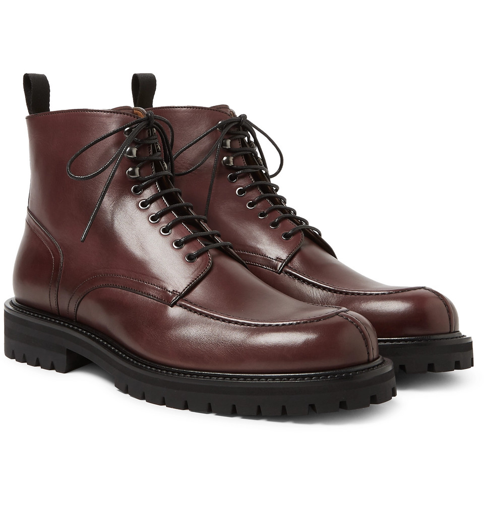 Jacques Leather Boots - £425