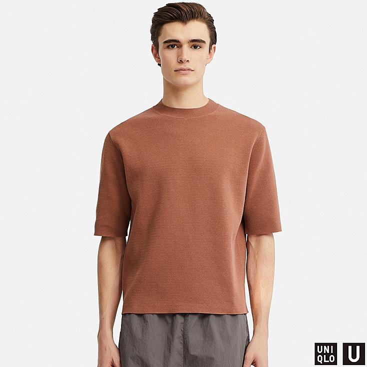 Uniqlo U short sleeved knit - £24.90 - Obsessed with the cut & colour of this wear anywhere knit from Uniqlo's U collection