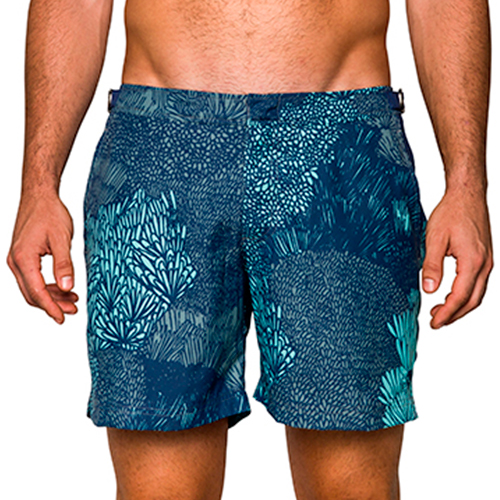 Paraiba swim shorts - £68 - Heading off for winter sun? Ensure you pack these slim fitting and stylish printed shirts for that all important stepping out of the sea Instagram shot.