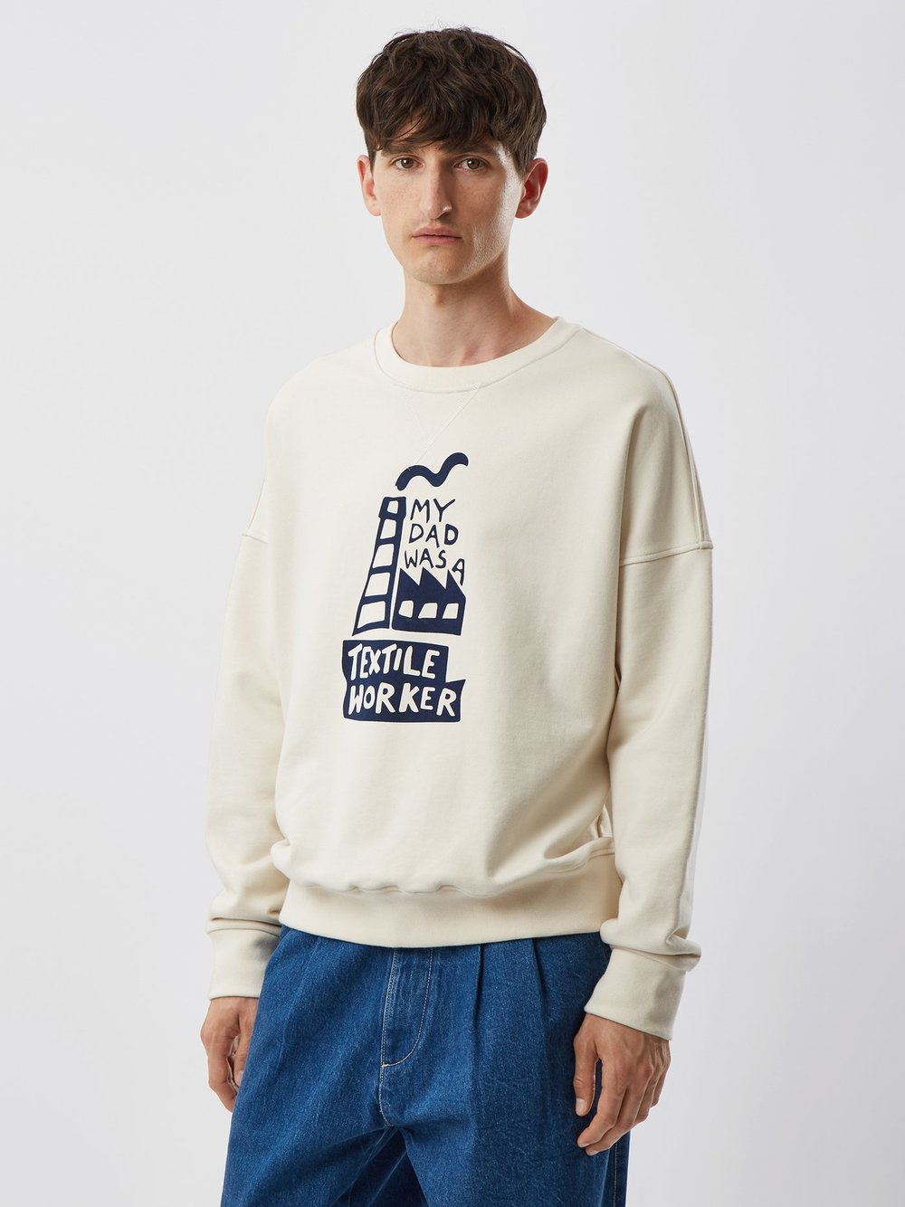 E. Tautz sweatshirt - £195 - Just one of the highlights from a superb spring collection.
