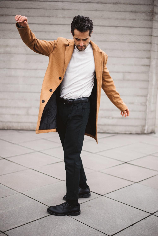 Coat & knit -  Zara , Trousers -  All Saints
