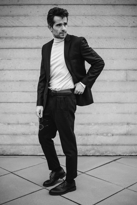 Knit -  Zara , Trousers -  All Saints , Blazer -  Boss