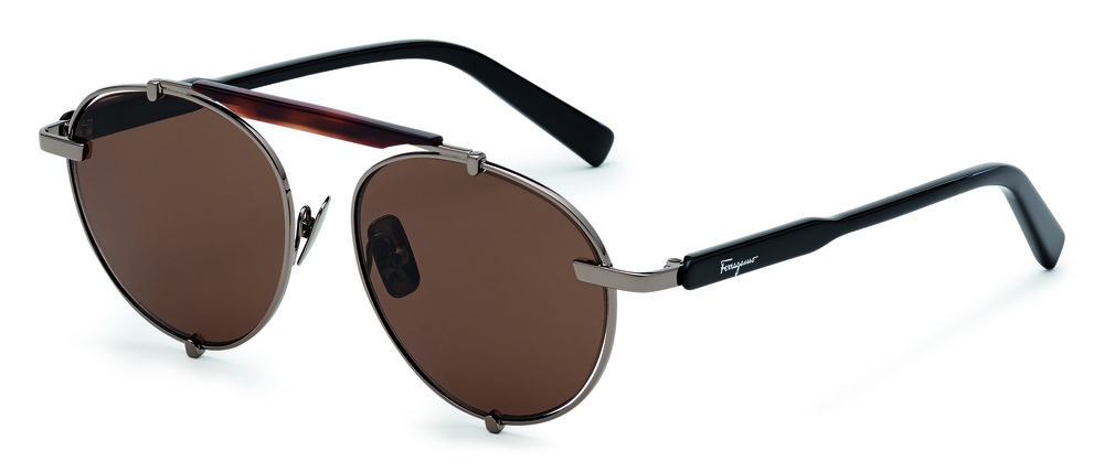 Salvatore Ferragamo shades - £285 - Wear with the above suit for a nonchalant summer look