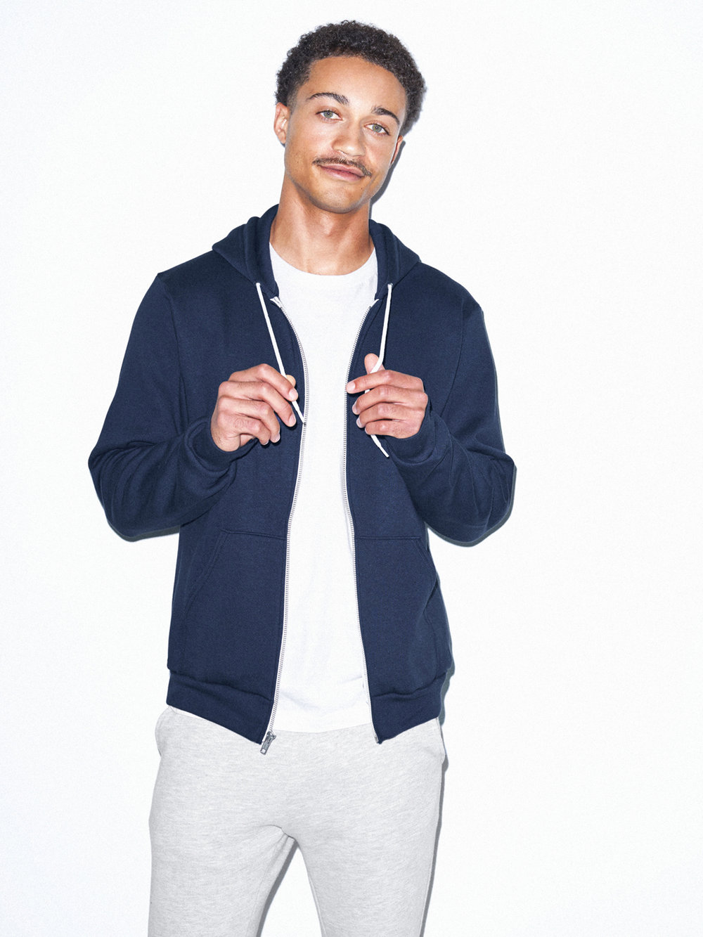 American Apparel zip-up - £35 - Some things are so classic that you may as well just get one in every colour