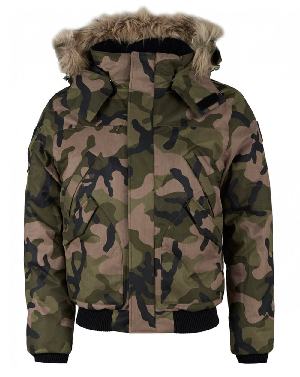 Nobis hooded bomber jacket - £472.49 - Great cut, shape and camo print makes this a piece you will keep in your wardrobe for years