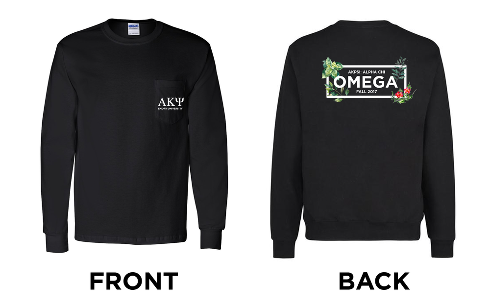 For Alpha Kappa Psi Co-ed Professional Fraternity, Alpha Chi Chapter, Omega Class