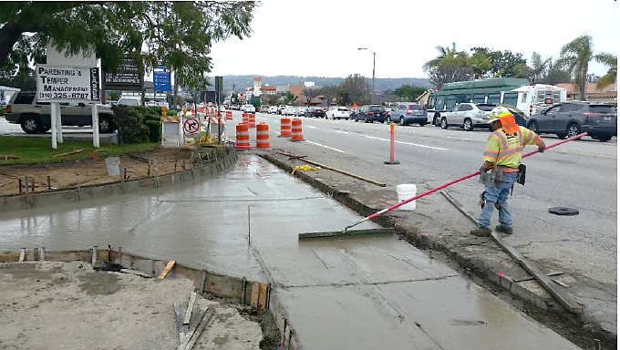 DMR provided contract administration and project management assistance for this Caltrans funded project. Work included roadway rehabilitation of Crenshaw Blvd. as well as ADA improvements.