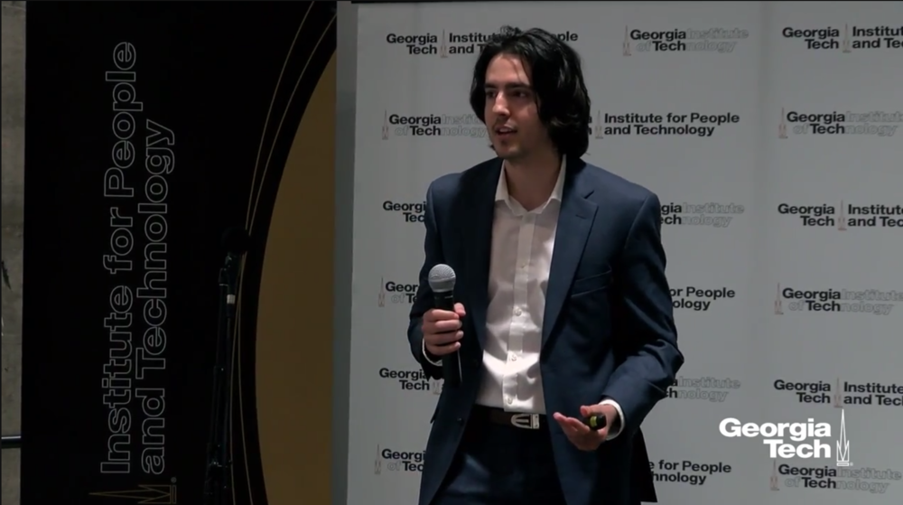 April 2018 - Luka Antolic-Soban, Sanus Solutions CEO, gave a speech on Georgia Institute of Technology Information People and Technology Industry Innovation Day - One Misplaced Touch Can Kill Someone? A Story From Problem to Solution