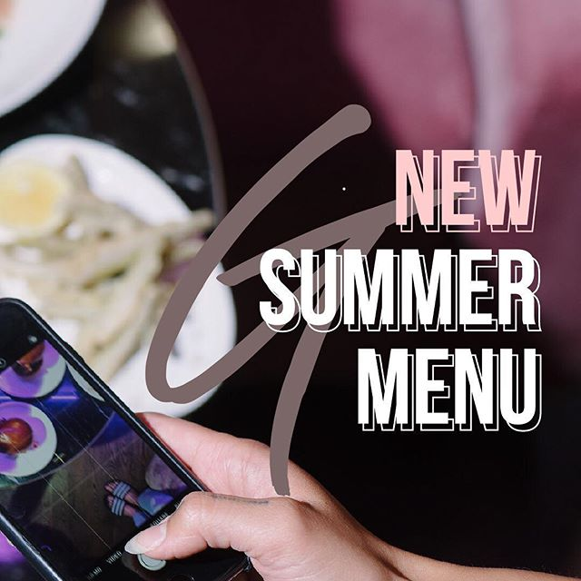 Get your phones ready 🤳🏼 our new SUMMER MENU is here and we have some tasty things for you to try. Open at 6pm til late, reservations@goldie.ca