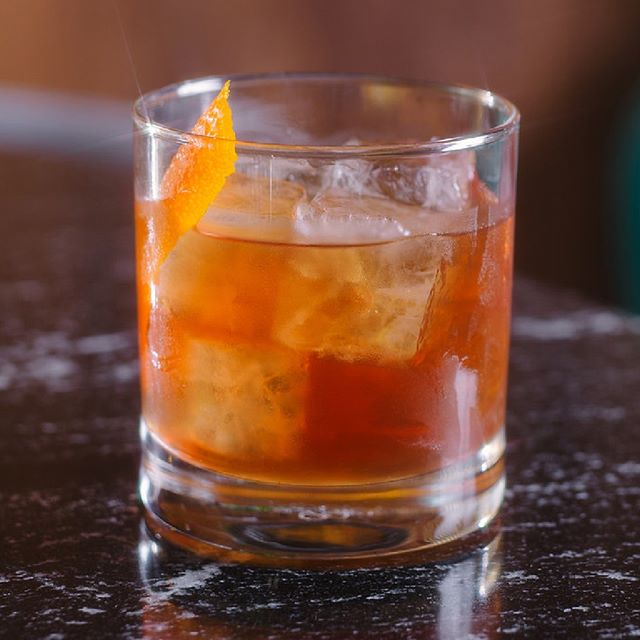 Keep it Classic - Classic Old Fashioned (@Lot40 rye, sugar, bitters)