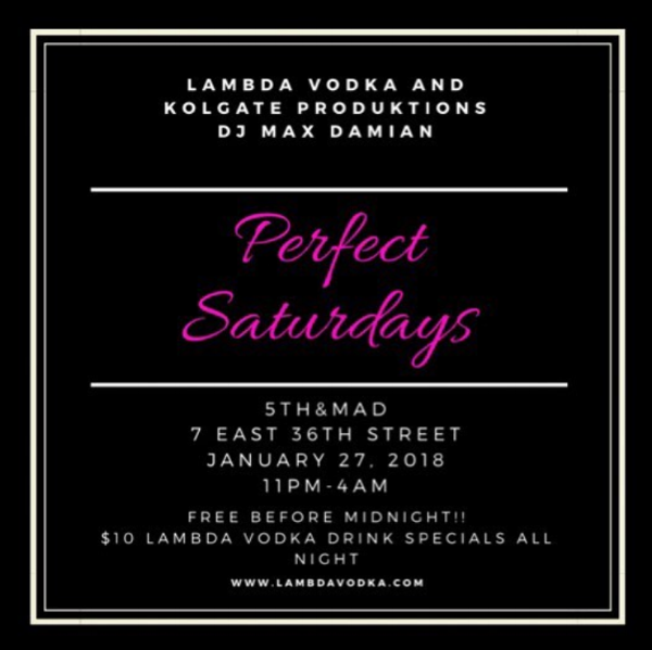 Get #LitonLambda - Perfect Saturdays featuring dj max damian