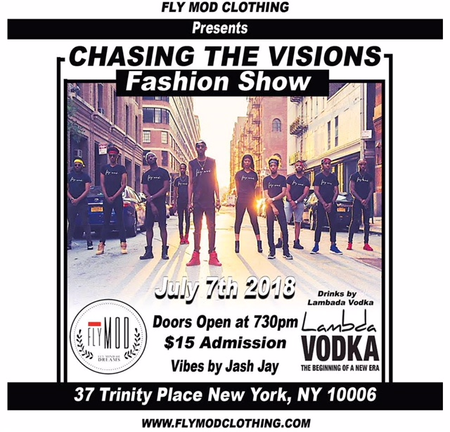 fly mod clothing - chasing the visions fashion show