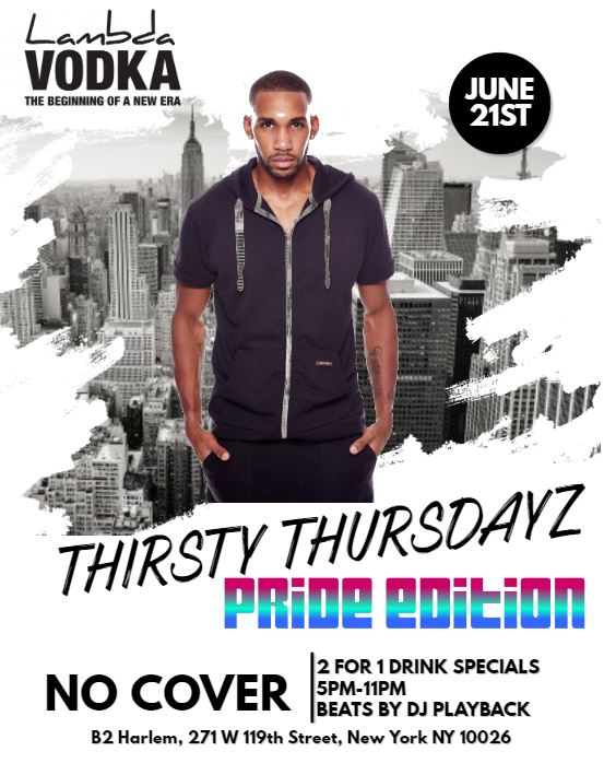 Thirsty Thursdayz - Pride Edition