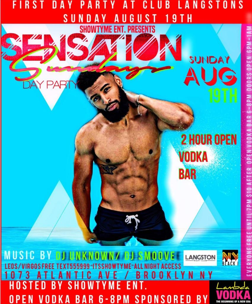 Sensation Sundays - Club langstons