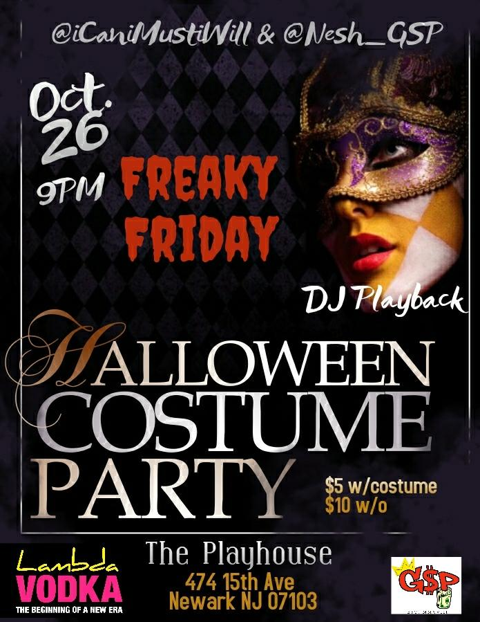 Halloween costume party - Hosted by @nesh_gsp and @icanimustiwill