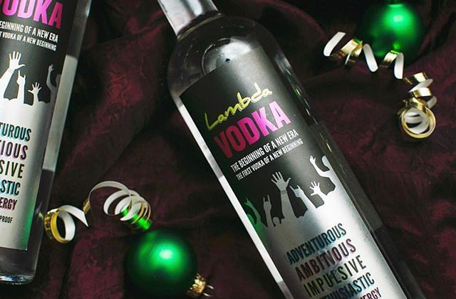 Spread some holiday cheer this Monday with Lambda Vodka I'm stocking stuffers!! 🎥: @lemonbrands  ONLINE PURCHASES AT www.lambdavodka.com . . . #litonlambda #lambdavodka #lgbt #lgbtq #lgbtq🌈 #lesbian #gay #bisexual #transgender #queer #nonbinary #equality #pride🌈