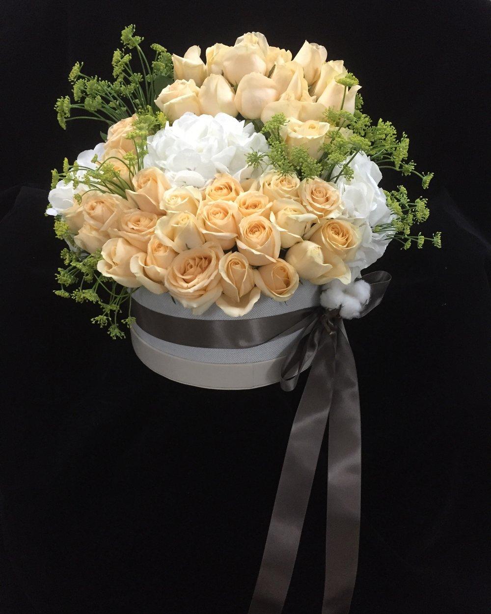 034 / Naples Yellow Flower Box