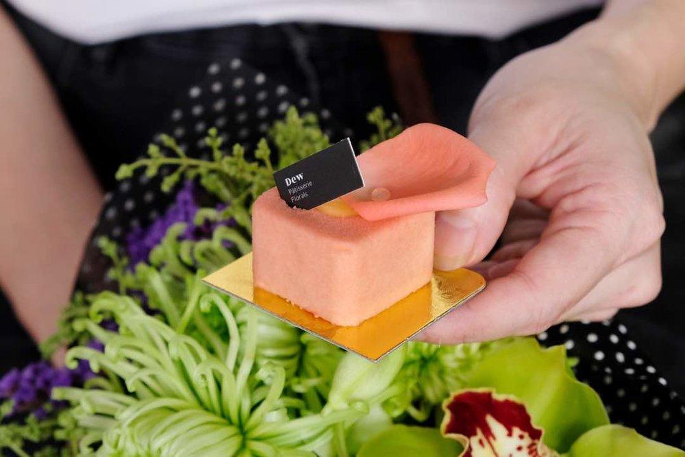 Mini Rose & Grapefruit Mousse