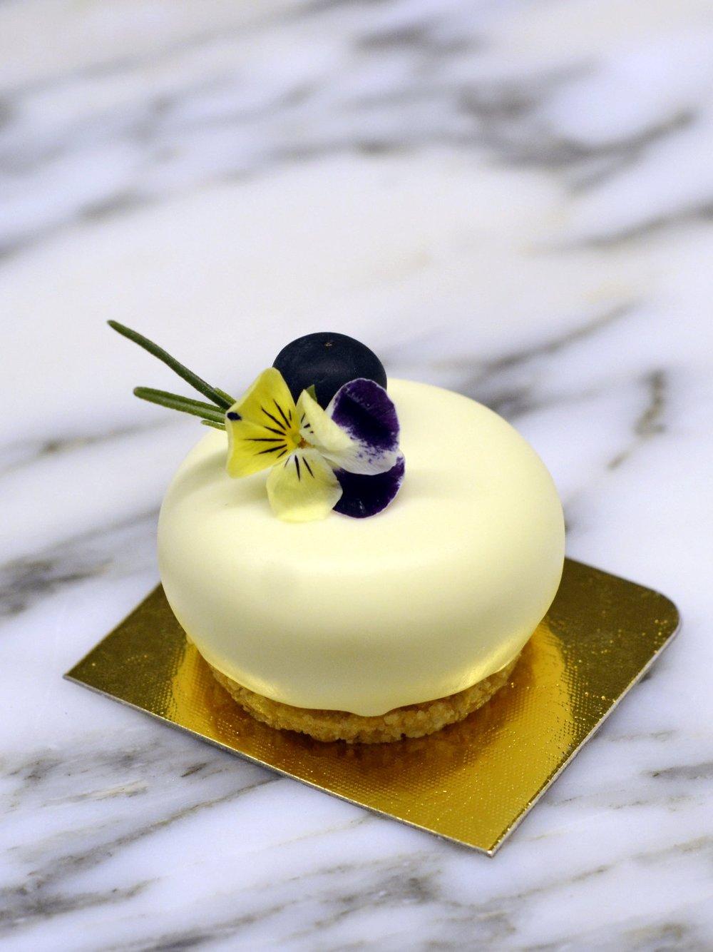 Mini Blueberry & Camembert Cheesecake
