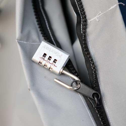 the original porch pirate bag zipper lock