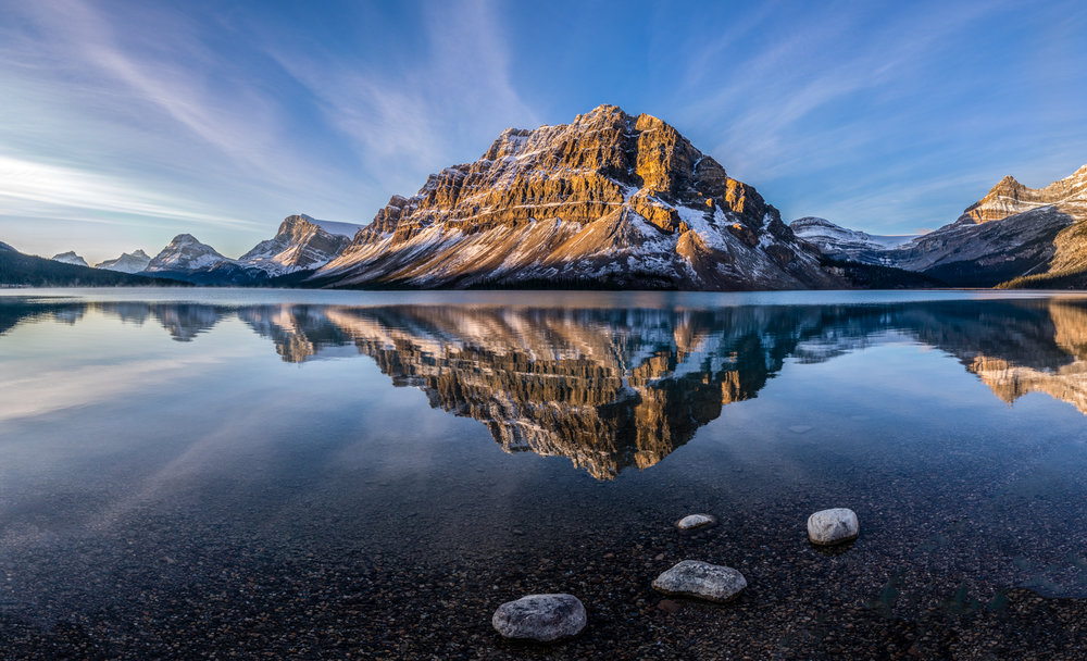 - Bow Lake by David Rowlands